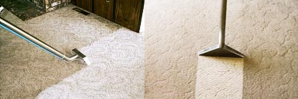 Removing stains from a carpet